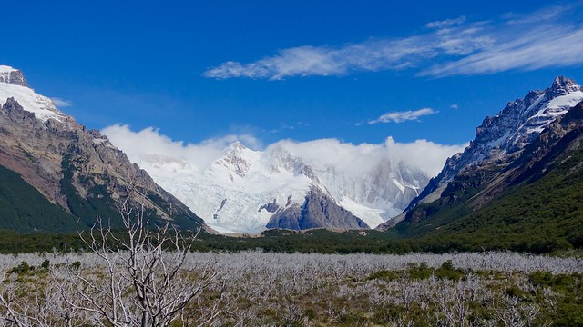 Vista west to the Andes