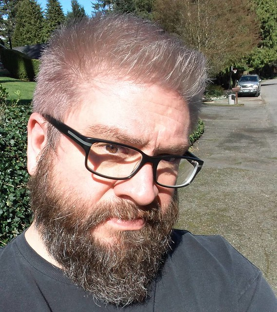One last one with glasses and sunlight.