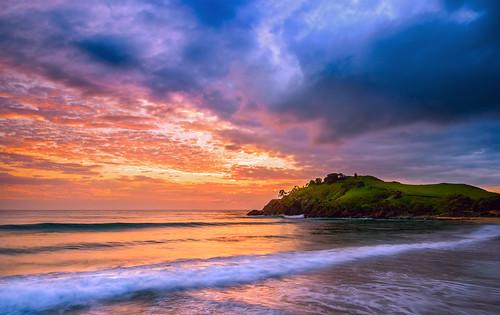 Sunrise at Cabarita Beach