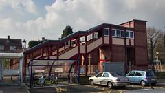 Shirley Station - footbridge