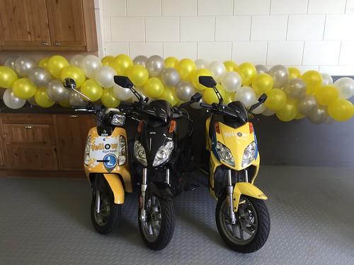 Ballonslinger Open Dag Rijschool Yellow Breda