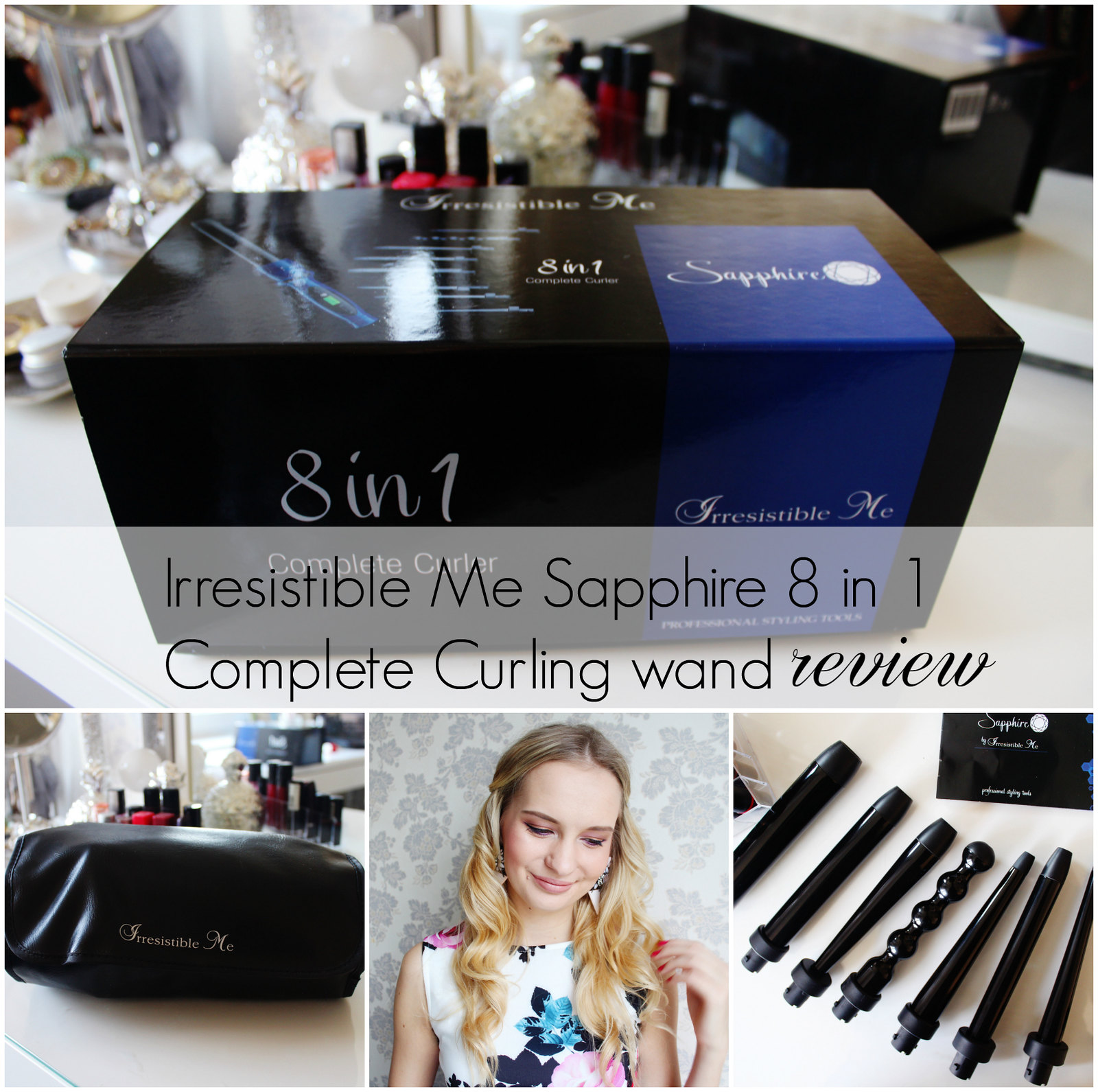 Irresistible Me Complete curling wand review