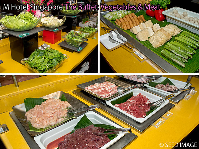 M Hotel Singapore The Buffet Vege