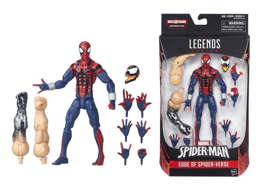 HASBRO Marvel Legends 系列【2016 第一波:Spider-Man】漫威蜘蛛人傳奇系列 6吋