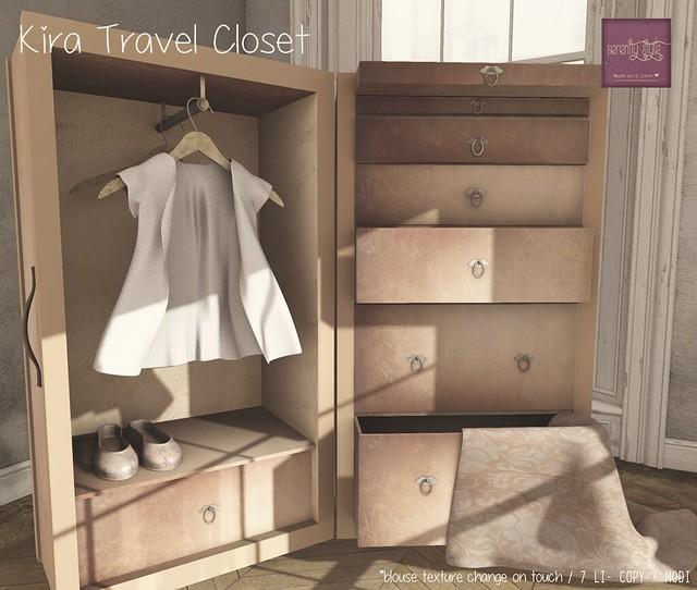 Serenity Style- Kira Travel Closet