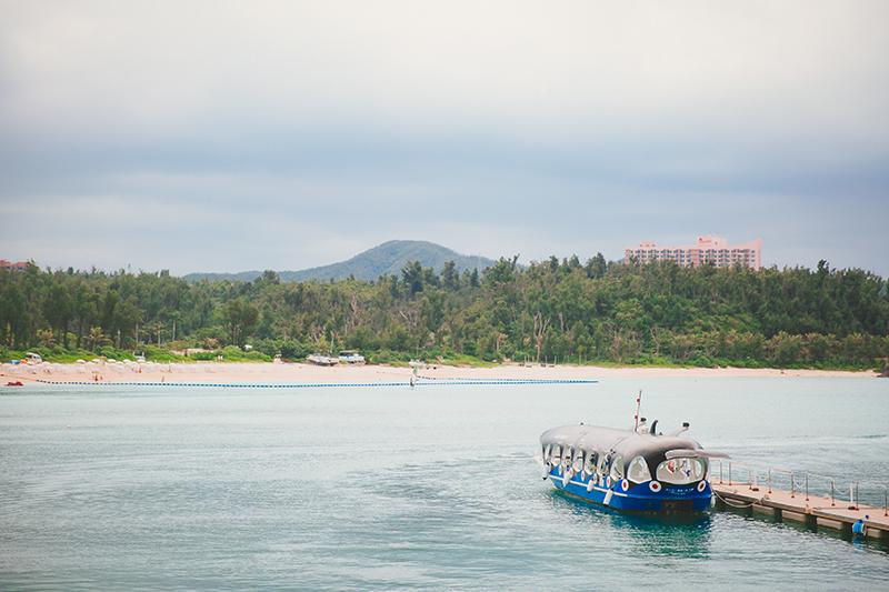 沖繩親子景點海中展望塔