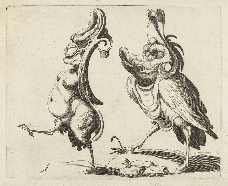 Arent van Bolten - Grotesque Creatures 2, 1604-1616