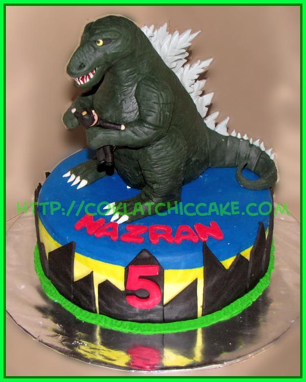 Cake Godzilla