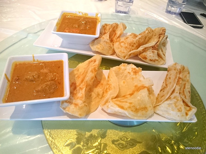 Roti Cannai and Beef Curry