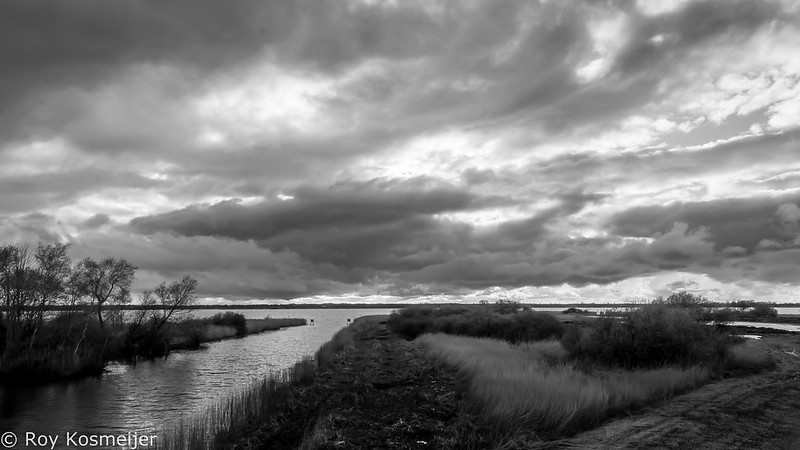 Dramatic-BW_Sunset_Zuidlaardermeer