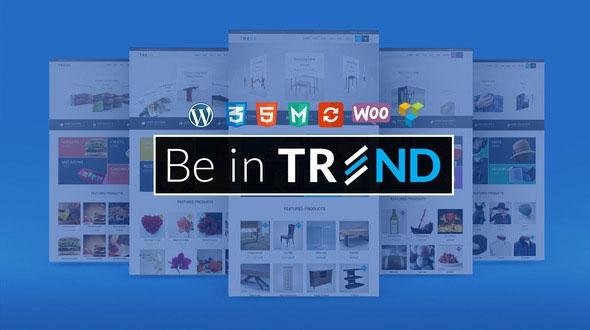Trend v2.0.1 – Multipurpose / Fashion / Restaurant / Construction / Modern Shop WooCommerce WordPress Theme