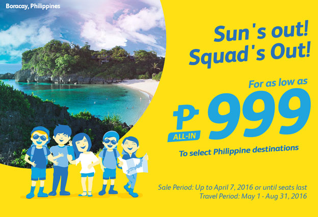 Cebu Pacific Promo April 4 2016