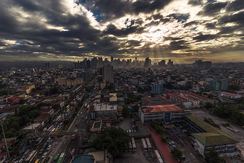 sun clouds sunrise nikon cityscape traffic philippines d750 makati tamron makaticity tamronlens nikond750 tamron1530mm tamron1530mmf28vc
