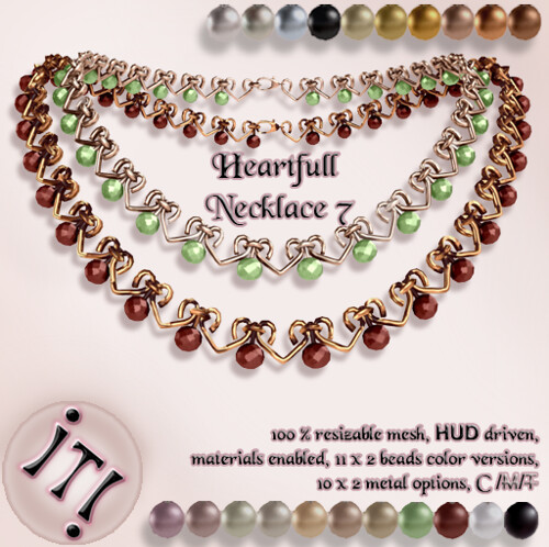 !IT! - Heartfull Necklace 7 Image