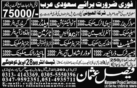 Generator Mechanic and Auto Electracation Jobs 2016