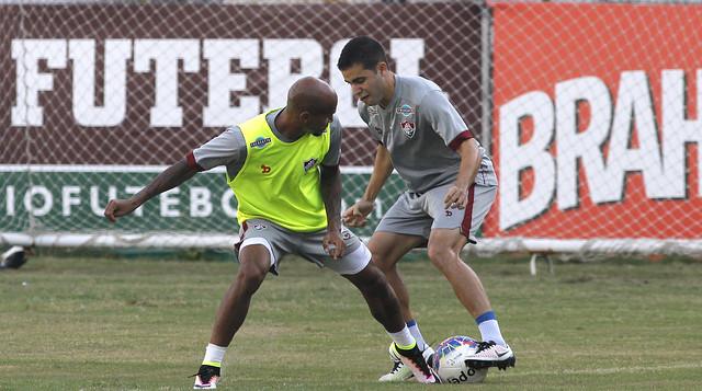 Fluminense: Em treino técnico, Levir Culpi esboça equipe para enfrentar o Vasco