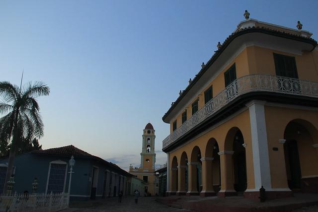 Trinidad at dusk
