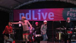 Bernadette La Hengst beim ndLive Fest