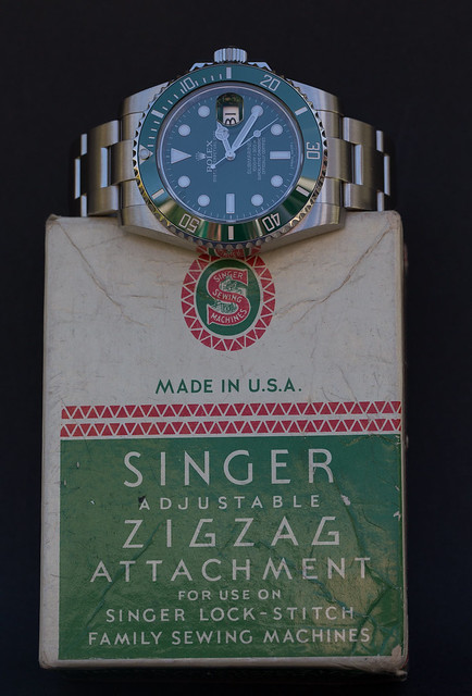Rolex Submariner meets Singer