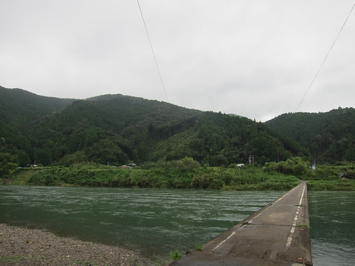 bridge japan river jp kochi kōchiken shimantoshi