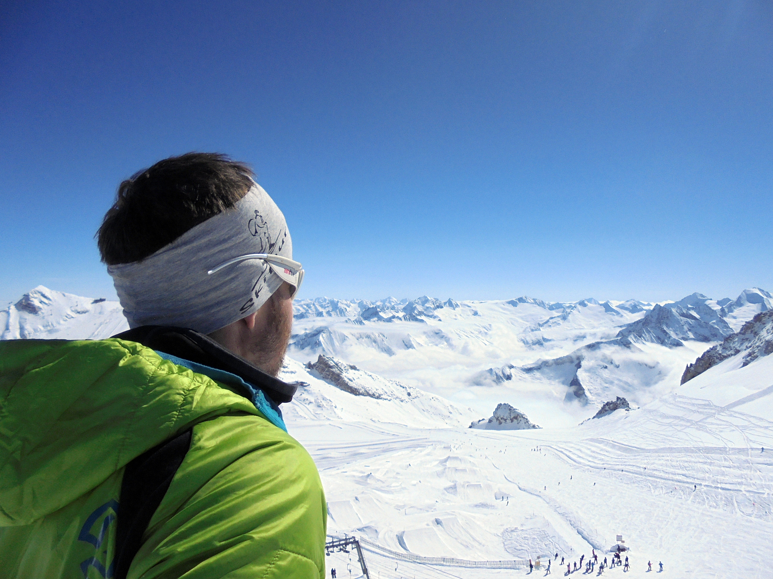 Wildlahner Scharte – Falscher Kaserer (3.207 - 3.254m), Zillertaler Alpen, 10.04.2016