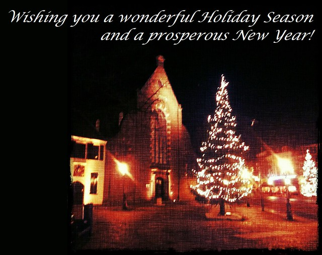 Wishing you a wonderful Holiday Season and a prosperous New Year! by Bontrop