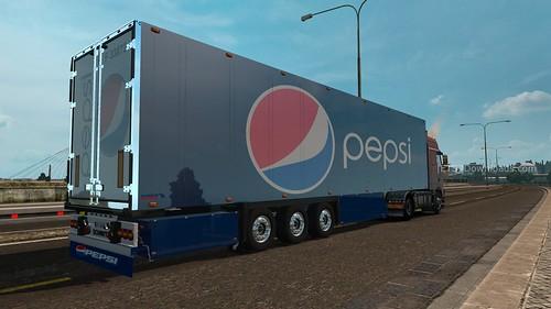 Schmitz Pepsi Trailer