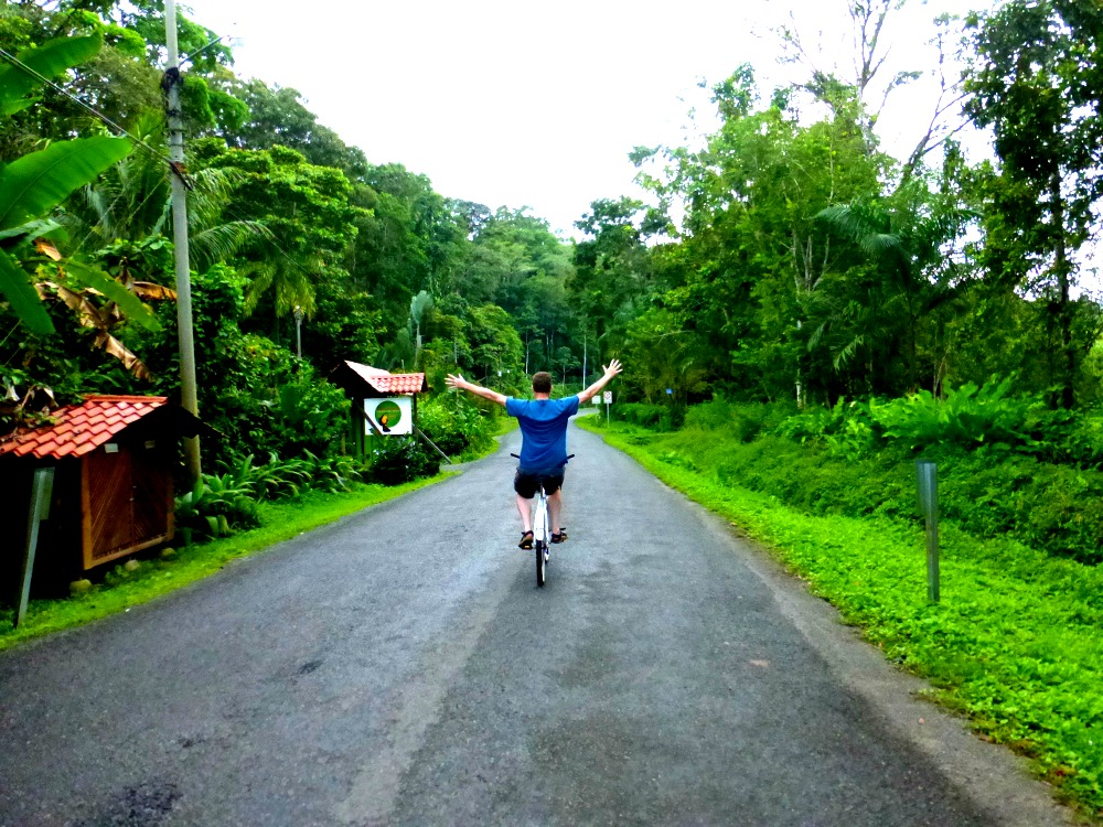 Bike to Puerto Viejo