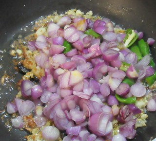 Clam Meat Masala Step - 3