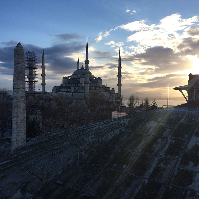 Our view from the hotel #spectra in #istanbul #turkey #mariteam