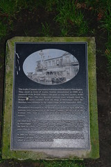 Photo of Arpley Cannons bases black plaque