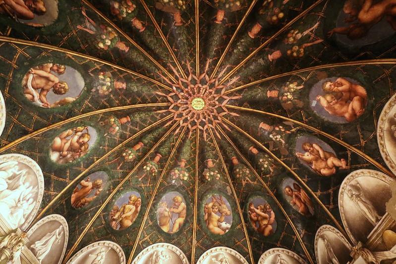 1518-1519 - Correggio - Camera di San Paolo - appartamenti della Badessa - Parma