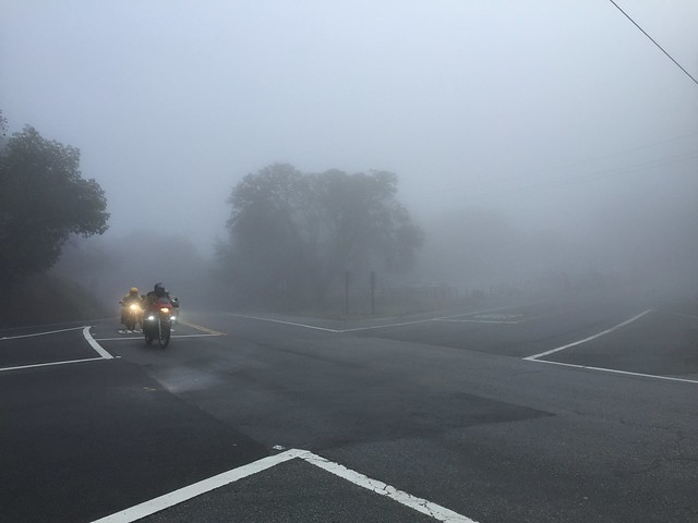 Foggy Saratoga Gap