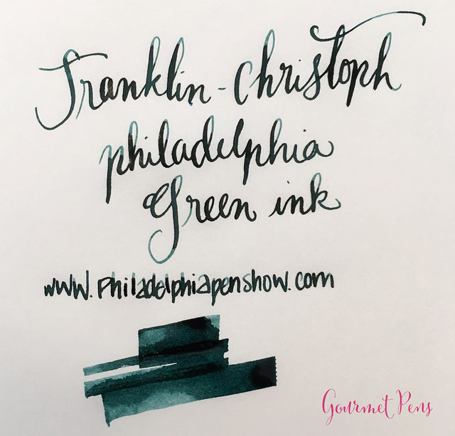 Ink Shot Review Franklin-Christoph Philadelphia Green @1901FC @CarnivalofPens (3)
