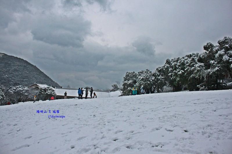 2016-台北陽明山-瑞雪-難得一見的雪白山景-17度C隨拍 (82)