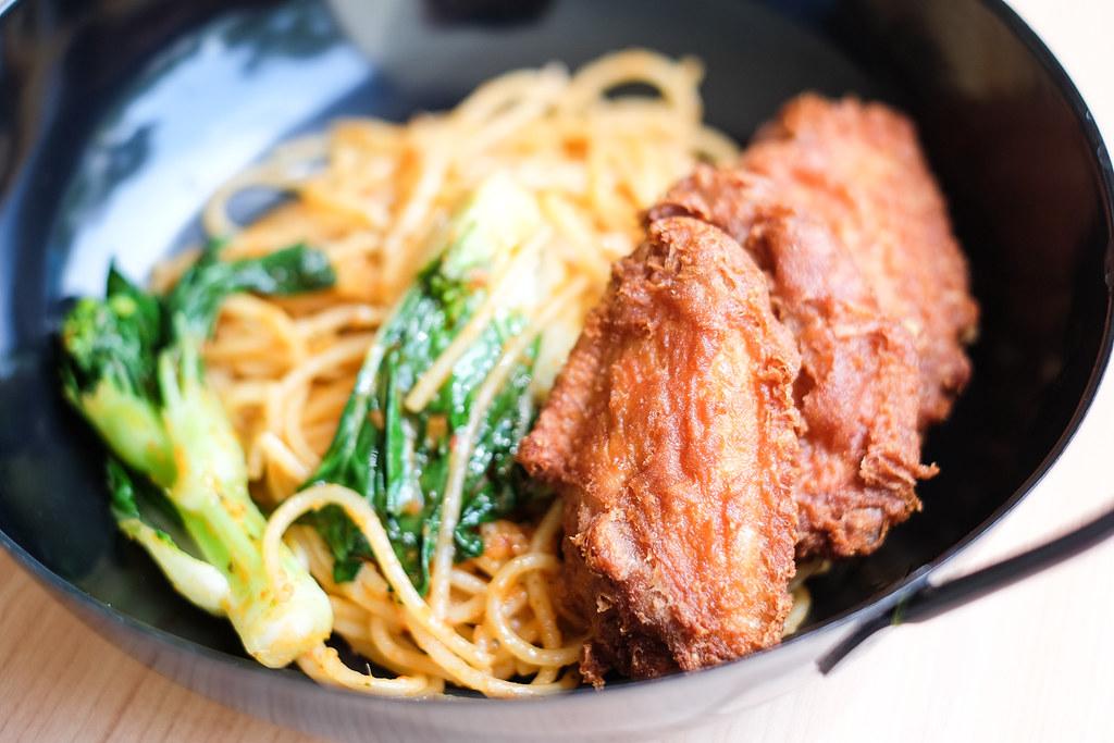 Keng Eng Kee: Prawn Paste Chicken Spaghetti