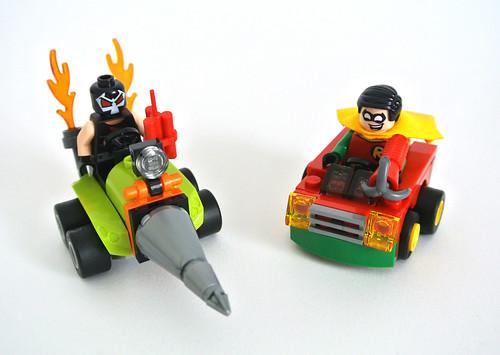 Review: 76062 Robin vs. Bane