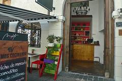 Santiago - Mulato Restaurant door