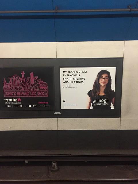 #iLookLikeAnEngineer의 시작이 된 지하철 광고