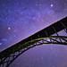 Stars above Red Cliff Bridge by Bryce Bradford