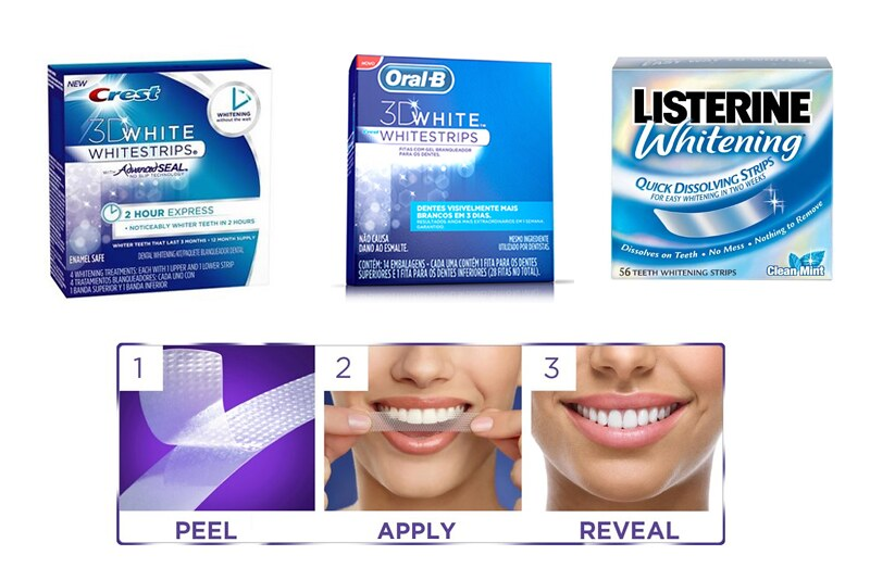Whitening Strips - typicalben