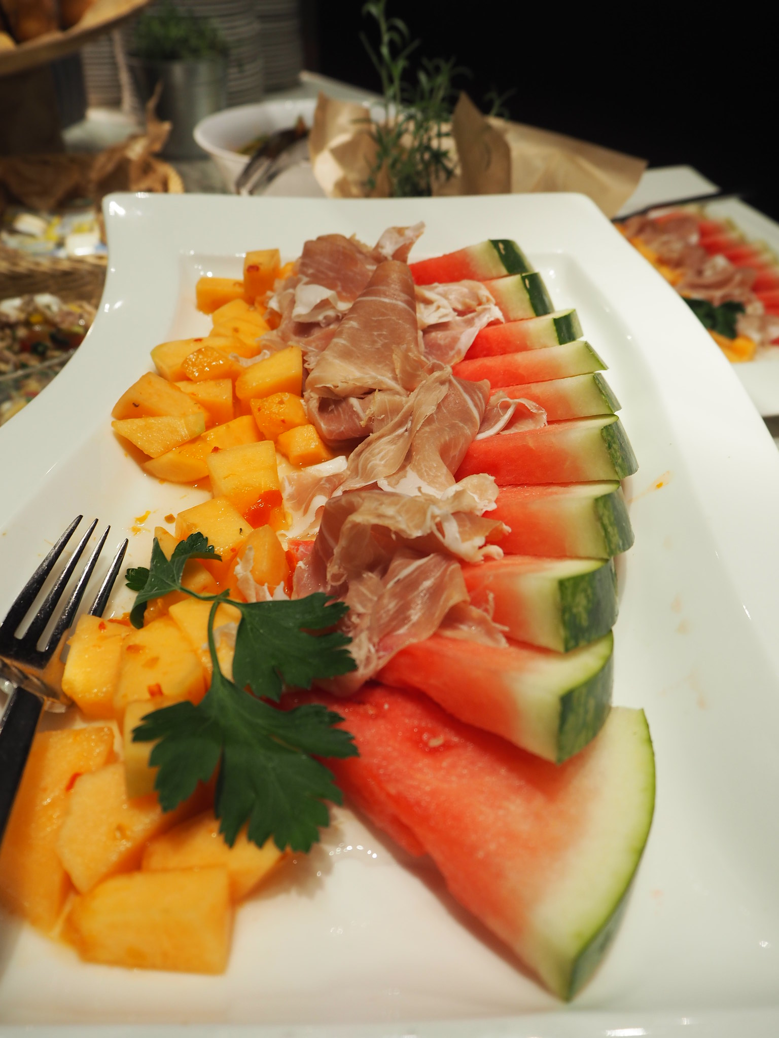 Melone & Schinken, Radisson Blu Fankfurt
