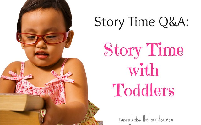 Story Time Q&A: Story Time With Toddlers
