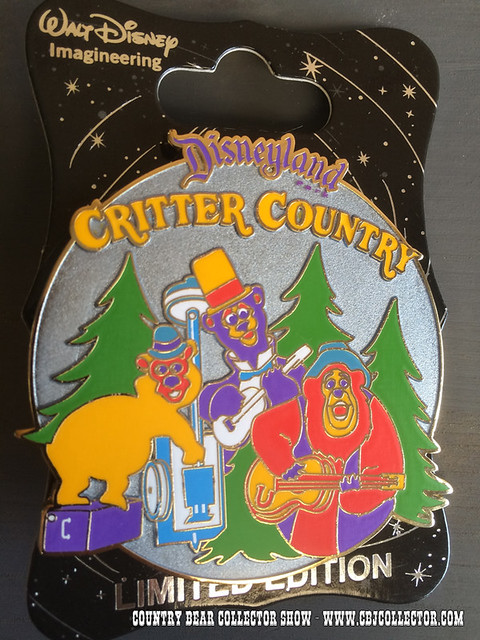 2015 Walt Disney Imagineering Retro Critter Country Limited Edition Pin - Country Bear Collector Show #013