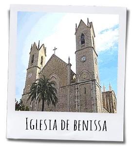 De Iglesia de la Puríssima Xiqueta is vernoemd naar de beschermheilige van Benissa