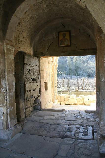 King david the Builder's grave, Gelati Monastery