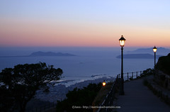 tramonto Erice Sicilia