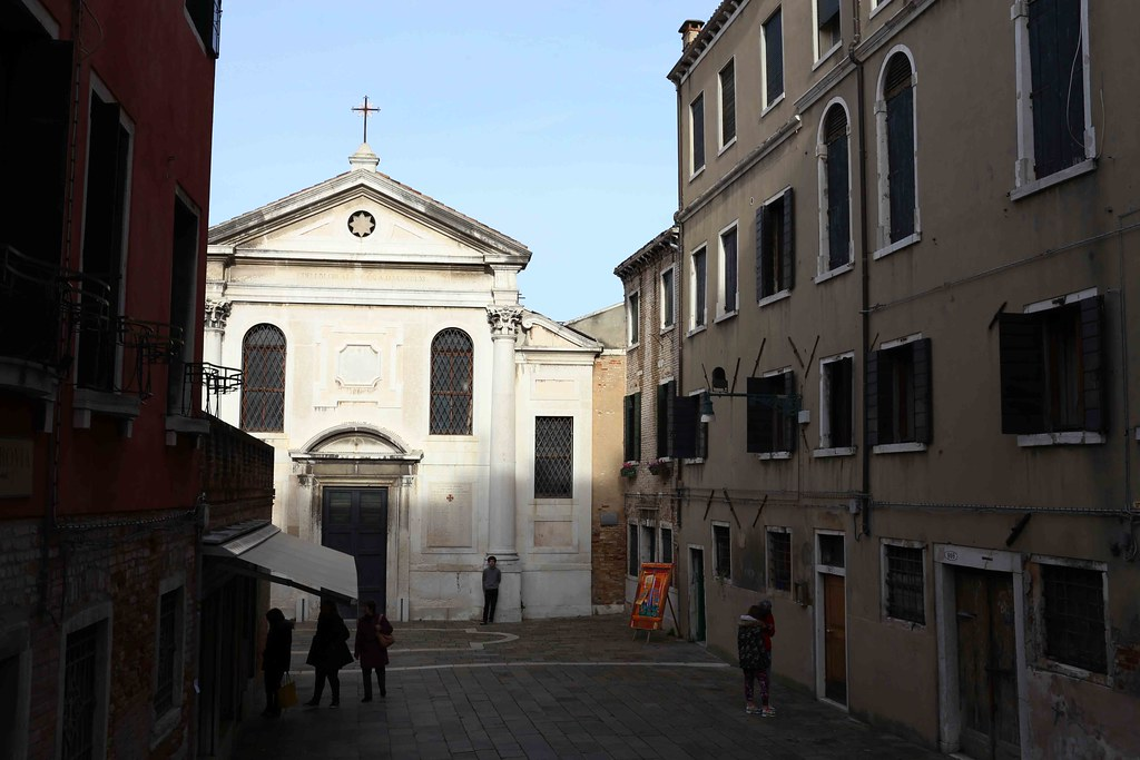 City Faith - Angelo Grossi's Churches, Venice