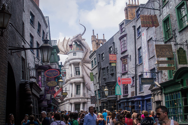 Step into Diagon Alley at The Wizarding World of Harry Potter