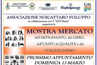 Noicattaro. Mostra mercato Marzo front